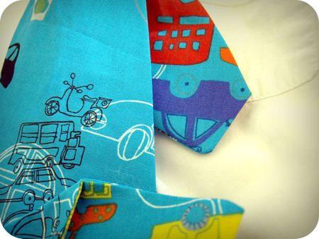 Boy's tie - detail